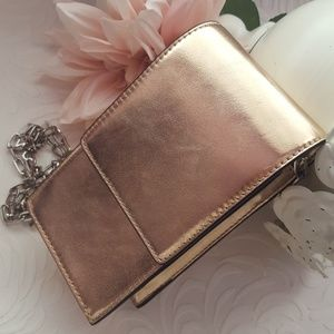 French Connection Crossbody Bag (Rose Gold)